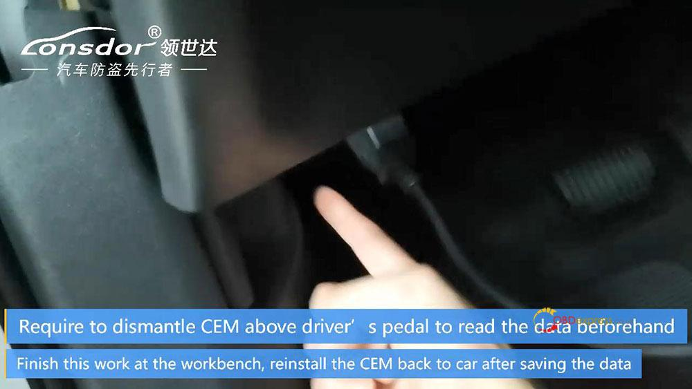 volvo cem located 03 - Where is CEM located on new Volvo models for Lonsdor K518? -