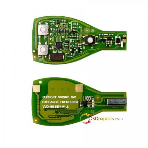 vvdi be key 01 - Can CGDI key work in VVDI MB? - CGDI key work in VVDI MB