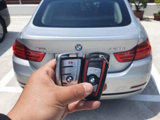 BMW FEM 2015 add key with Autel im608