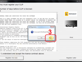 Renault Can Clip 207 206 free download, activation and installation