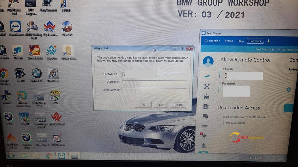 icom software - How to activation of BMW ICOM software? - How to activation of BMW ICOM software