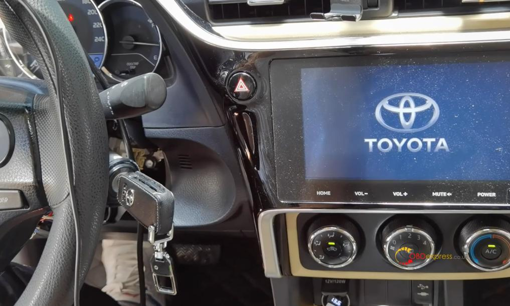 obdstar x300 dp plus program toyota 8a h non smart key al key lost 27 - Toyota 8A H Non-smart Key All Key Lost - OBDSTAR Solution - Toyota 8A H Non-smart Key All Key Lost - OBDSTAR Solution