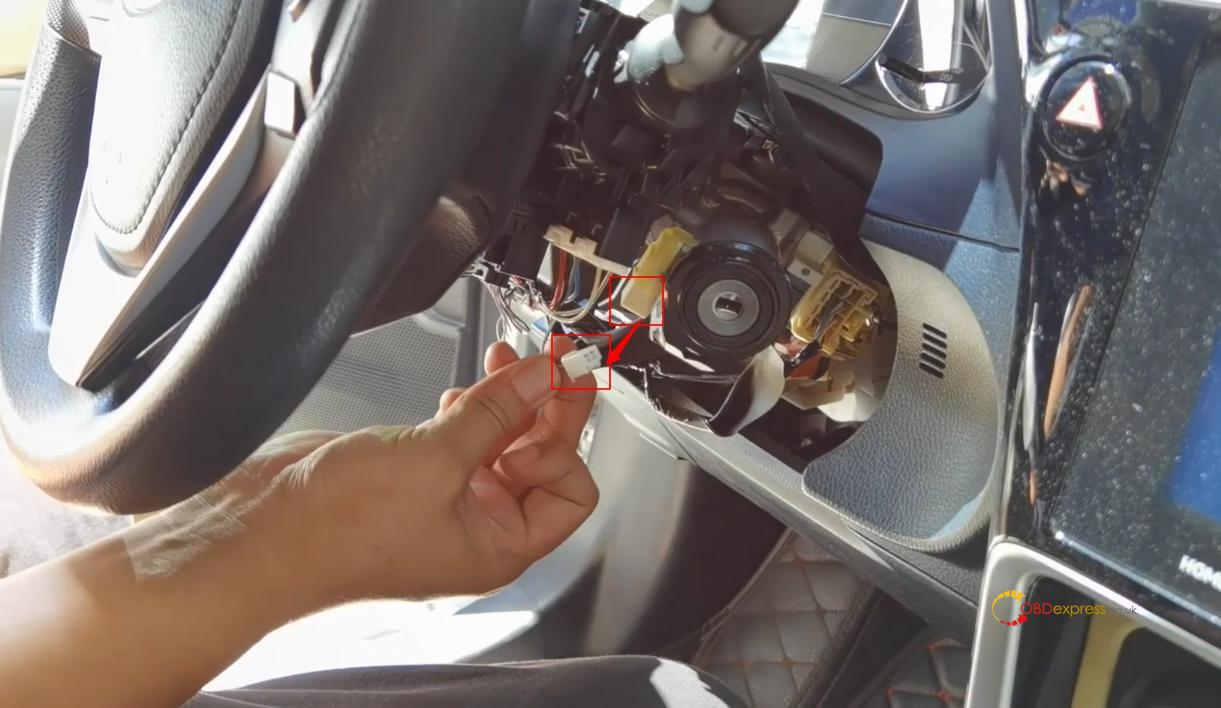 obdstar x300 dp plus program toyota 8a h non smart key al key lost 3 - Toyota 8A H Non-smart Key All Key Lost - OBDSTAR Solution - Toyota 8A H Non-smart Key All Key Lost - OBDSTAR Solution