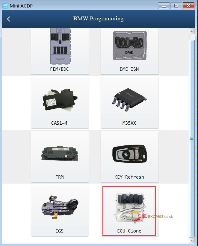 yanhua mini acdp n20 adapter 03 - Clone DME BMW F12 N63TU with Yanhua Mini ACDP - Clone DME BMW F12 N63TU with Yanhua Mini ACDP