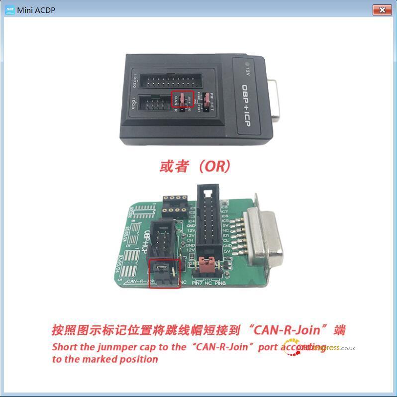 yanhua mini acdp n20 adapter 10 - Clone DME BMW F12 N63TU with Yanhua Mini ACDP - Clone DME BMW F12 N63TU with Yanhua Mini ACDP
