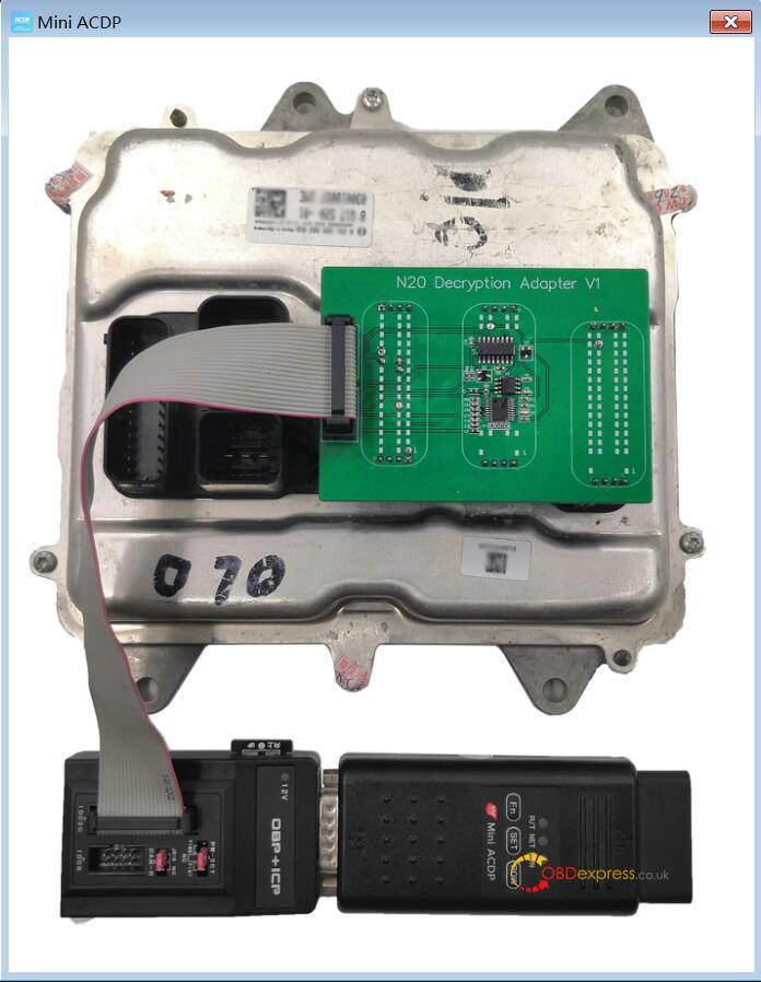 yanhua mini acdp n20 adapter 11 - Clone DME BMW F12 N63TU with Yanhua Mini ACDP - Clone DME BMW F12 N63TU with Yanhua Mini ACDP