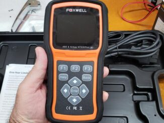 Reset GMC truck brake and ABS light with Foxwell NT630 Plus