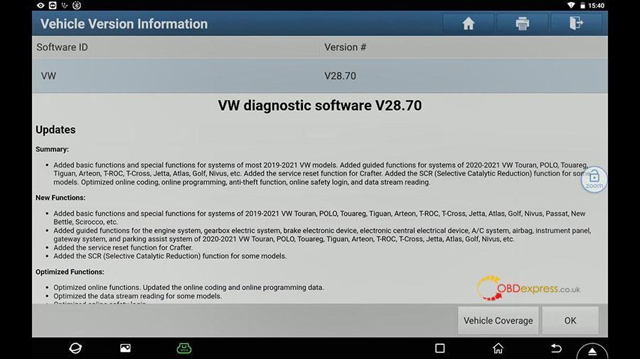 launch x431 vw passat 2013 guided function 02 - Launch X431 Guided Function: VW Passat 2013 Air Cond Compressor first run - Launch X431 Guided Function