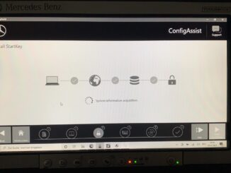 MB SD C4 Plus the data is incorrect Solution