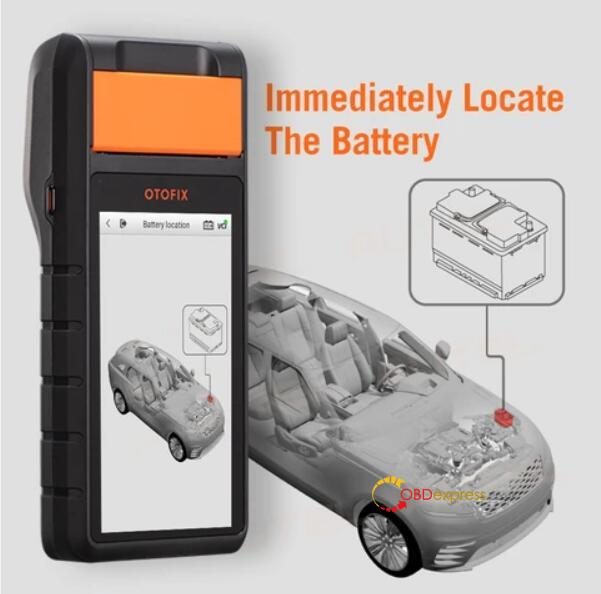 otofix bt1 in vehicle test battery toyota 01 - OTOFIX BT1 in-vehicle Battery Test on Toyota Procedure - OTOFIX BT1 in-vehicle Battery Test on Toyota Procedure