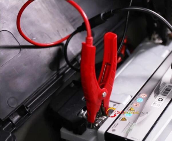 otofix bt1 in vehicle test battery toyota 02 - OTOFIX BT1 in-vehicle Battery Test on Toyota Procedure - OTOFIX BT1 in-vehicle Battery Test on Toyota Procedure