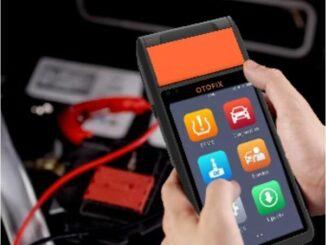 OTOFIX BT1 in-vehicle Battery Test on Toyota Procedure