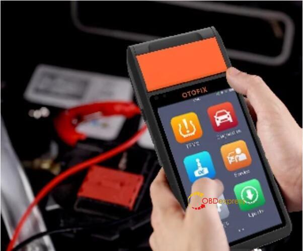 otofix bt1 in vehicle test battery toyota 03 - OTOFIX BT1 in-vehicle Battery Test on Toyota Procedure - OTOFIX BT1 in-vehicle Battery Test on Toyota Procedure