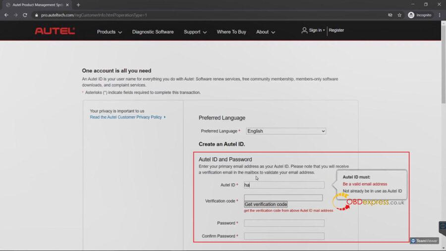 register autel tool 04 900x507 - Why and how to Register Autel Tool? - Why and how to Register Autel Tool?