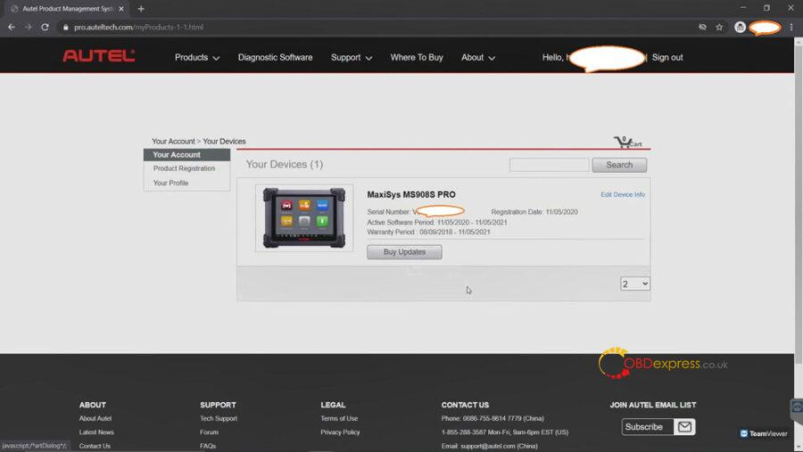 register autel tool 09 900x507 - Why and how to Register Autel Tool? - Why and how to Register Autel Tool?