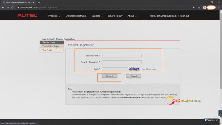 register autel tool 10 900x507 - Why and how to Register Autel Tool? - Why and how to Register Autel Tool?