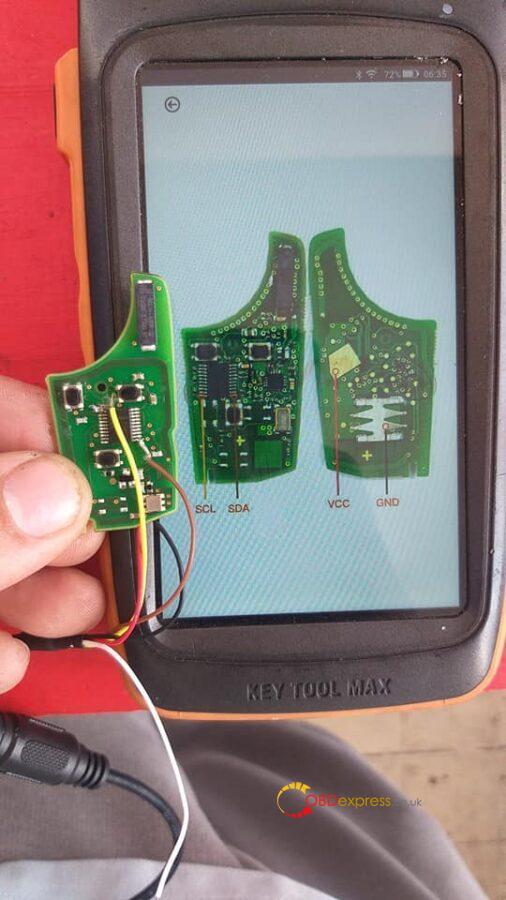 vvdi key tool plus scl pin 1 sda pin 11 diagram 01 506x900 - Xhorse VVDI Key Tool Plus wiring diagram (SCL pin 1, SDA pin 11) - Xhorse VVDI Key Tool Plus wiring diagram (SCL pin 1, SDA pin 11)