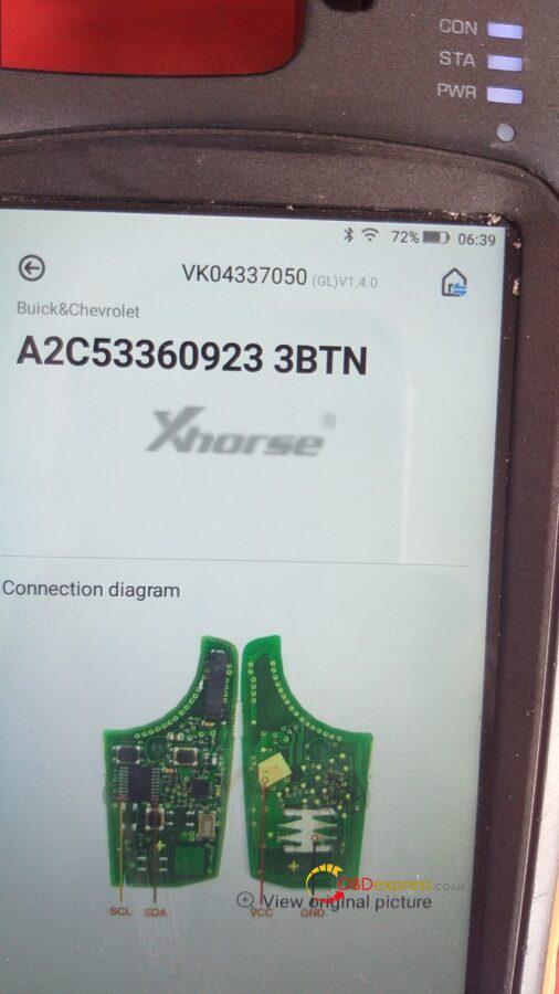vvdi key tool plus scl pin 1 sda pin 11 diagram 04 506x900 - Xhorse VVDI Key Tool Plus wiring diagram (SCL pin 1, SDA pin 11) - Xhorse VVDI Key Tool Plus wiring diagram (SCL pin 1, SDA pin 11)