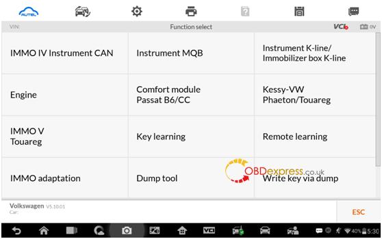 Autel IM608 MQB key programming procedure18 - Autel IM608 V5.10: IMMO IV + MQB key programming procedure - Autel IM608 MQB key programming procedure