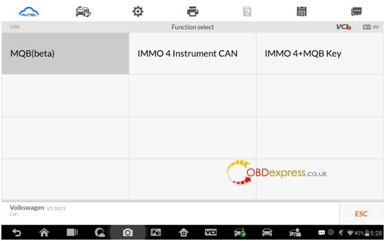 Autel IM608 MQB key programming procedure2 - Autel IM608 V5.10: IMMO IV + MQB key programming procedure - Autel IM608 MQB key programming procedure
