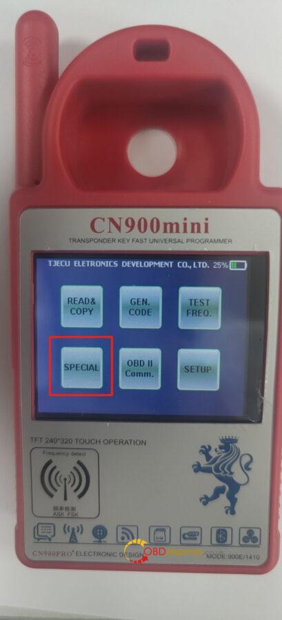 CN900 Mini program the PCB board 1 409x900 - CN900 Mini machine to modify the PCB board program tutorial - CN900 Mini machine to modify the PCB board program tutorial