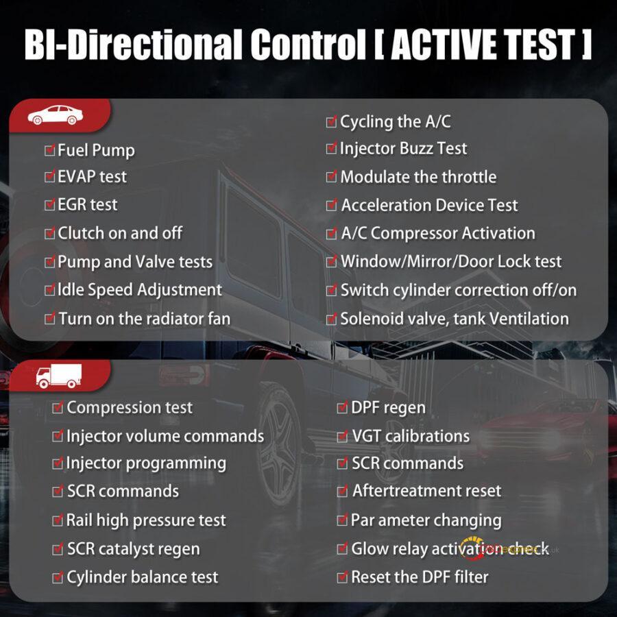 Launch X431 PAD 7 BI Directional Control 900x900 - Best Launch scan tool 2021: Launch X431 PAD VII Review - Best Launch scan tool 2021: Launch X431 PAD VII Review