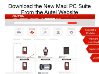 Autel Tablet use wired printer