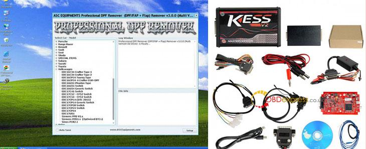 kessProfessional DPFEGR REMOVER 3.0 - Can Kess V2 5.017 support removing the DPF? - Kess V2 5.017 support removing the DPF