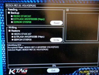 fix Ktag Red PCB read bosch Me7.01 software stops at 0