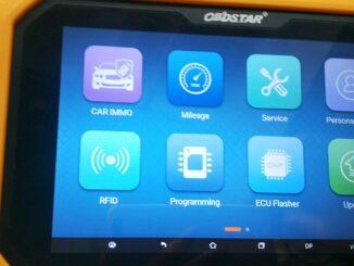 OBDSTAR Suzuki Cluster Calibration Upgrade V31.17 (via OBD)