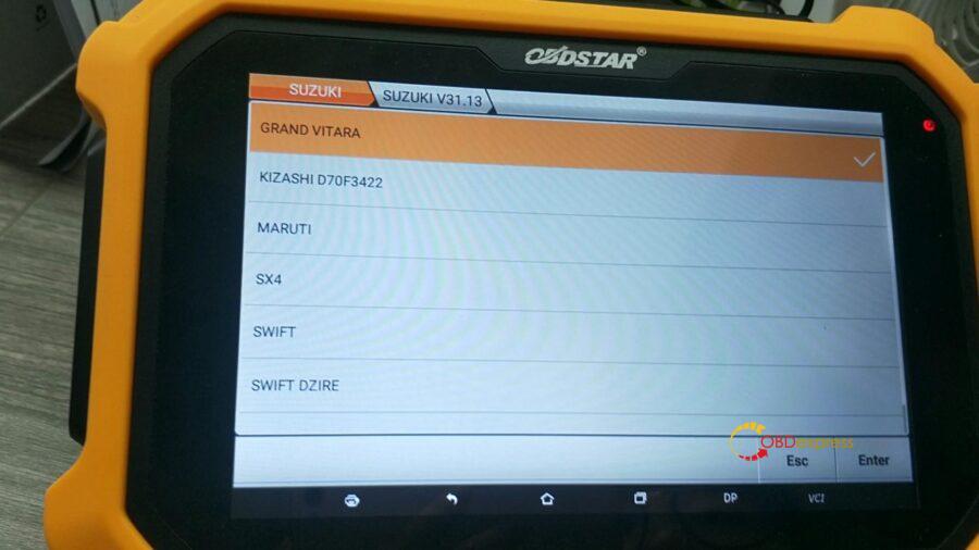 obdstar suzuki cluster calibration 03 900x506 - OBDSTAR Suzuki Cluster Calibration Upgrade V31.17 (via OBD) - OBDSTAR Suzuki Cluster Calibration Upgrade V31.17 (via OBD)