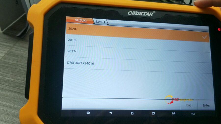 obdstar suzuki cluster calibration 07 900x506 - OBDSTAR Suzuki Cluster Calibration Upgrade V31.17 (via OBD) - OBDSTAR Suzuki Cluster Calibration Upgrade V31.17 (via OBD)