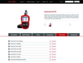 fix Autel AutoLink AL419 can't update v7.14 v4.33